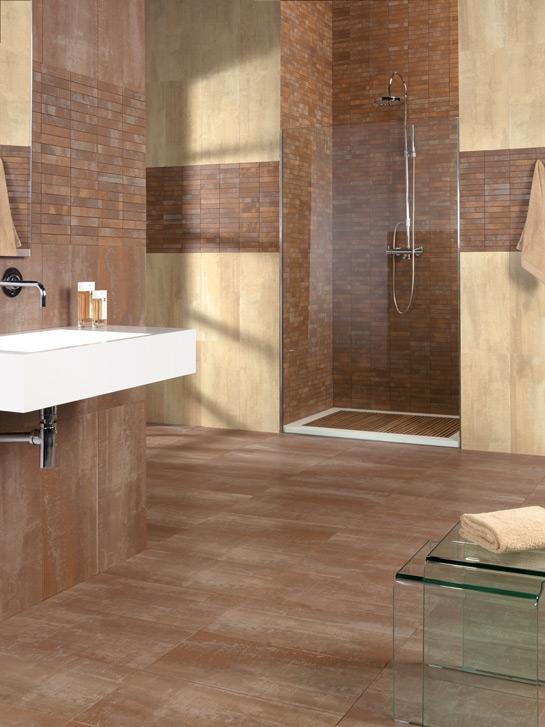 Tipos De Loseta Para Baño:La tendencia mayoritaria en formatos es 30×30 o más para suelos