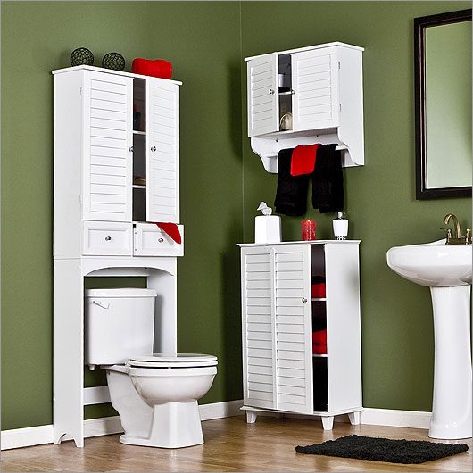 Muebles Para Baño Wc:Small Bathroom Storage Cabinet Ideas