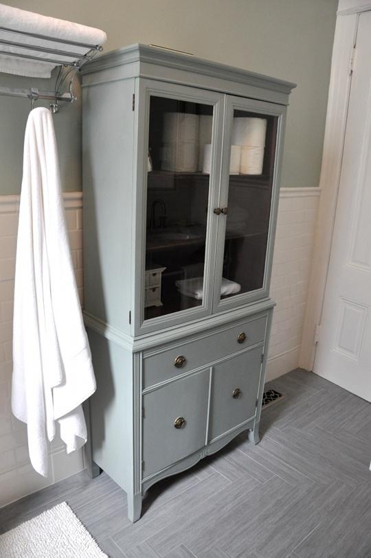 Armario Baño Vintage:Bathroom Storage Cabinet